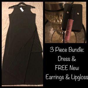 NWT Banana Republic Dress & FREE NEW💄 & Earrings